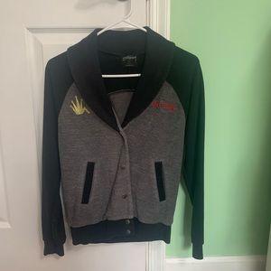 Women's Stüssy varsity-style jacket